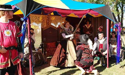 The Oregon Renaissance Festival of Hillsboro, August 16-September 21 (Up to 50% Off)