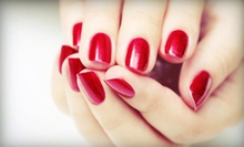 One or Three Shellac Manicures at Total Wrapture Day Spa (Up to 56% Off)