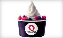 $5 for $10 Worth of Frozen Yogurt and Smoothies at Red Mango
