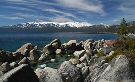 groupon daily deal - Stay with Dining Credit at Lake Tahoe Vacation Resort in South Lake Tahoe, CA. Dates into June.