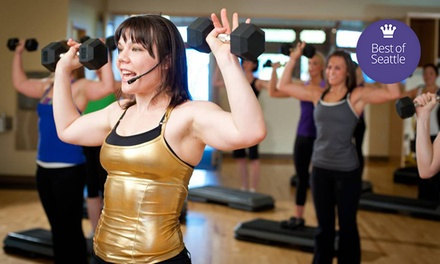 One Month of Unlimited Fitness Classes or 10 Classes at Community Fitness (Up to 51% Off)