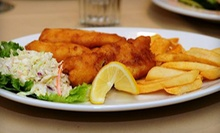 Two $30 Vouchers for American Cuisine or $15 for $30 Worth of American Cuisine at On the Waterfront 