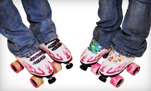 Roller Skating and Skate Rental for Two, Four, or Six at Orbit Skate Center (Up to 59% Off)