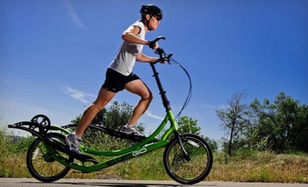 Four-Hour ElliptiGO Rental for One or Two from Fitness Experts (Up to 80% Off)