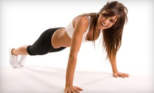 One or Two Months of Boot Camp at Greg's Fitness (Up to 81% Off)