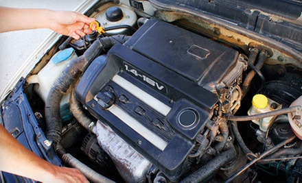 Spring Vehicle-Maintenance Package or One or Two Oil Changes at Finn Tire & Automotive (Up to 61% Off)
