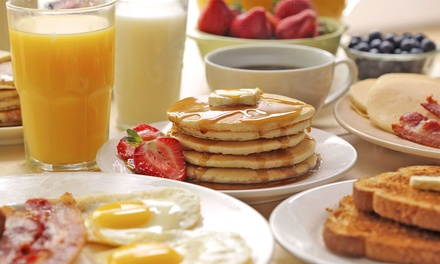 American Breakfast or Lunch for Two or Four at The Classic Cafe (45% Off)