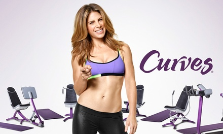 Two-Month Membership and Initiation Fee for One or Two People at Curves (Up to 82% Off)