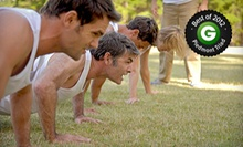$35 for Four Weeks of Morning or Evening Boot Camp from Heart in Sol ($179 Value). Three Options Available.