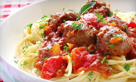Italian American Food for Lunch or Dinner at East Street Eatery (Half Off)