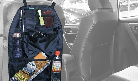 Multifunction Car Seatback Organizer and Storage Bag