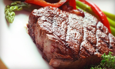 Steak-House Cuisine for Dinner or Lunch at Forrester's on the River (Half Off)