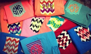 $20 For $40 Worth Of Embroidery, Monogramming, And Gifts At Lucky Thread
