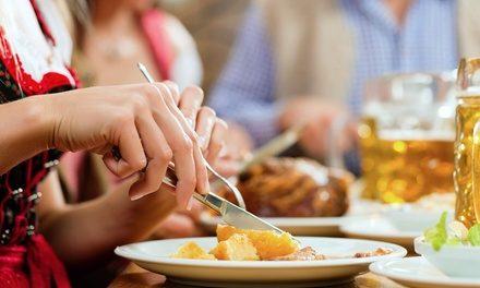 43% Off German Brunch at Biergarten Haus