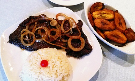 Dominican Food at Caoba Restaurant & Take Out (40% Off). Two Options Available.