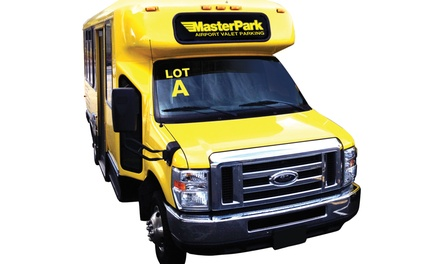 Three or Seven Days of Parking at MasterPark's Lot A across Seattle-Tacoma International Airport (Up to 38% Off)