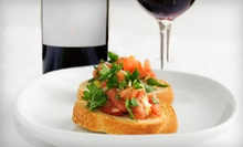 Tapas and Wine for Two or Four at Cross Roads (Up to 51% Off)