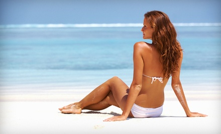 One or Three Mystic HD or Airbrush Spray Tans at Spray of Sunshine (Up to 61% Off)