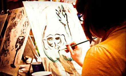 Three-Hour Painting Class for One or Two from Colors & Bottles (51% Off)