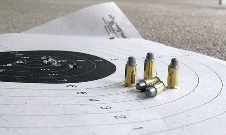 $25 for All-Day Outing for Two with Unlimited Firearms Rentals at American Heritage Gun Range ($87.50 Value)