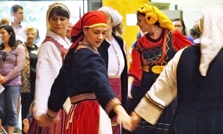 Entry & Drinks for Two Adults or One Child to Tampa Greek Festival (Up to 50% Off). Valid on Nov. 7, 8, or 9.
