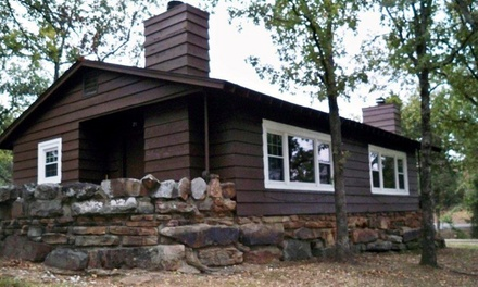 Groupon Deal: 1-Night Stay in One- or Two-Bedroom Cabin for Up to Six at Tenkiller State Park (Up to Half Off)