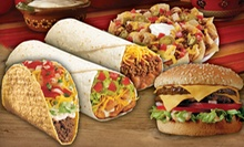 Made-to-Order Fresh Mexican and American Food at Del Taco (Half Off). Two Options Available.