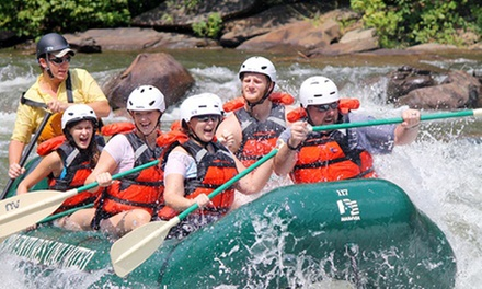 $29 for a Half-Day Ocoee River Adventure with Rental Gear from Adventures Unlimited ($59.95 Value)