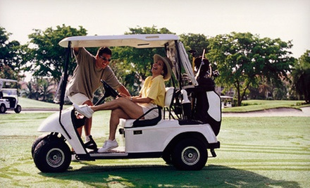 18 Holes of Golf with Cart and Range Balls for Two or Four at Carey Park Golf Course in Hutchinson (Up to 56% Off)