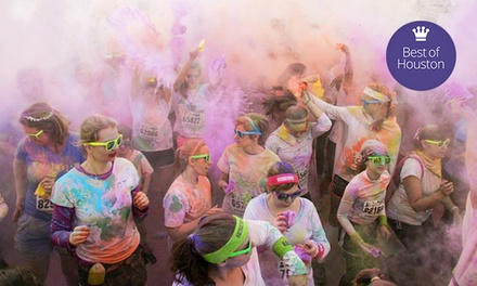 $22 for One Entry to the Color Me Rad 5K Run on Sunday, April 6, at 9 a.m. ($45 Value)