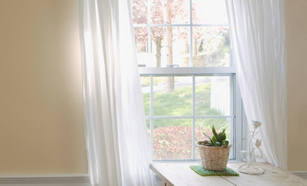 Windows and Installation Service from Advanced Window Products (Half Off). Three Options Available.