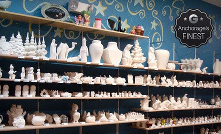 Paint-Your-Own Pottery at All Fired Up (Up to 53% Off). Two Options Available.