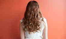 Haircut Package with Optional Partial or Full Highlights from Lucia Colon at Impulse Hair Design (Up to 66% Off)