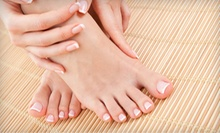 One or Two Express Mani-Pedis at Natural Epiphany Salon (Up to 61% Off) 