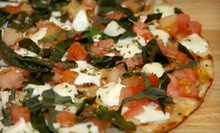 90-Minute Pizza-Grilling Class and Five-Course Meal for 2, 4, or 12 at Geppetto's Grilled Pizzeria (Up to 61% Off)