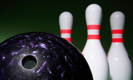$29 for 90 Minutes of Bowling for Five with Shoes at Sunset Lanes (Up to $58 Value)