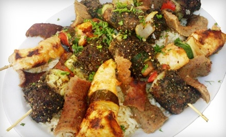 $25 for a Three-Course Prix Fixe Dinner with Wine for Two at The Armenian Cafe ($50 Value)