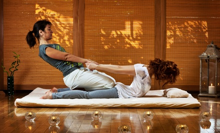 Individual's or Couples Thai Massage with a Foot Scrub or Paraffin Treatment at Wat Po Thai Spa (Up to 56%Off)