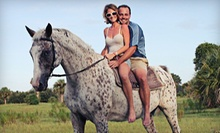 Jungle, Morning, or Moonlight Horseback Trail Ride at Three Crowns Farm in Geneva (Up to 53% Off)