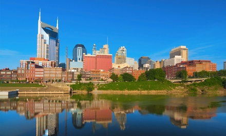 groupon daily deal - Stay with Daily WiFi at Sheraton Music City Hotel in Nashville. Dates into June.