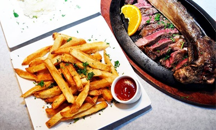 Kosher Steakhouse Dinner for Two or Four at Talia's Steakhouse and Bar (Up to 56% Off)