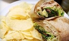 Sandwich Wraps, Salads, and Drinks at That's A Wrap (Up to 53% Off). Two Options Available.