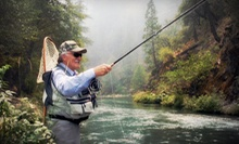 Introductory Fly-Casting Class with Optional On-the-Water Clinic from American Fly Fishing Co. (Up to 52% Off)