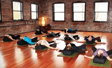 6- or 12-Class Pass, or 30-Day Unlimited-Class Pass at Escape to Yoga (Up to 74% Off)