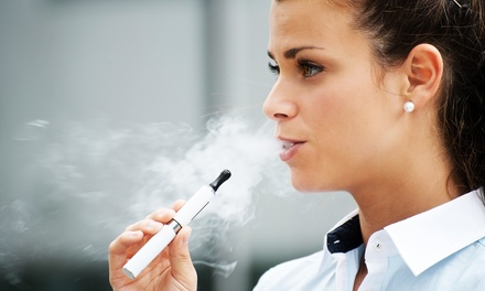 $12.50 for $25 Worth of E-Cigarettes, E-Juices, and Accessories at The-Cig