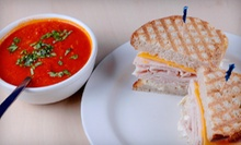 Fresh Soups, Sandwiches, and Caf Fare at Liquid Lunch (Half Off). Two Options Available.