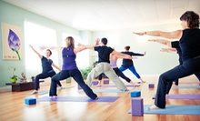 $45.99 for 10 Classes or One Month of Unlimited Classes at All Yoga ($149.50 Value)