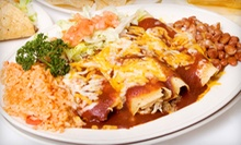 $15 for Two Groupons, Each Good for $15 Worth of Mexican Food at La Chimenea ($30 Total Value) 