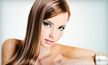 Women's Haircut with Optional Highlights or Color at H.I. Salon &amp; Spa (Up to 51% Off)