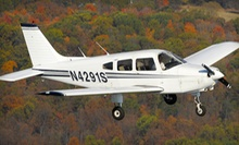 Flight Package with Simulator and Flight Time at American Winds Flight Academy (Up to 77% Off). Two Options Available.